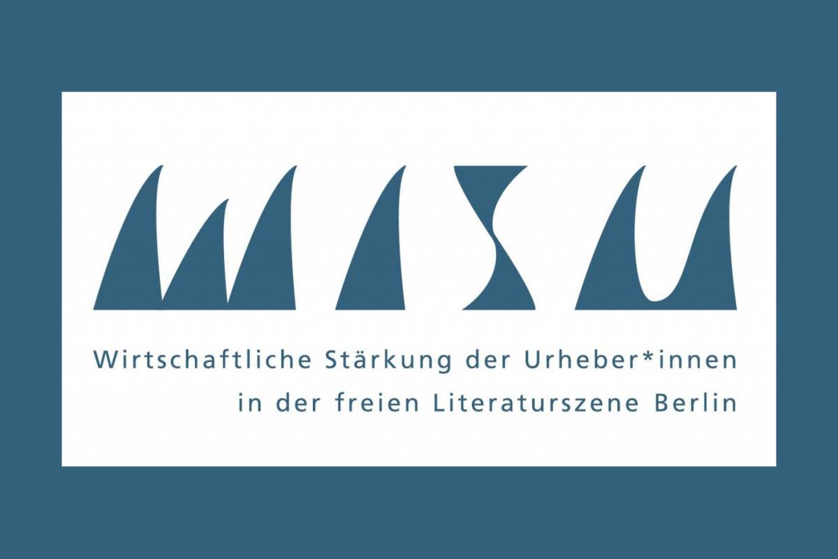 Logo zum 2. Berliner WiSU-Branchentreff Literatur 2017