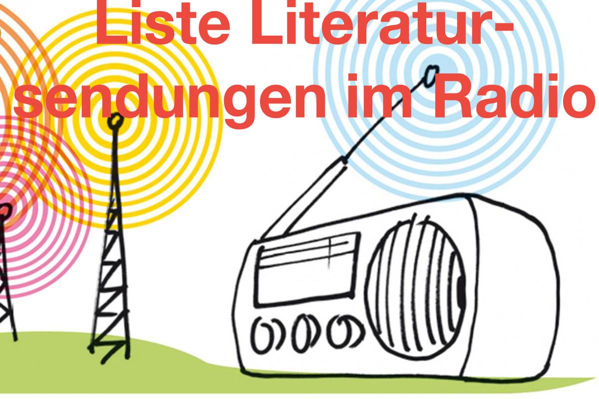Jens Brehl hat seine Liste der Literatursendungen im  öffentlich-rechtlichen Radio aktualisiert