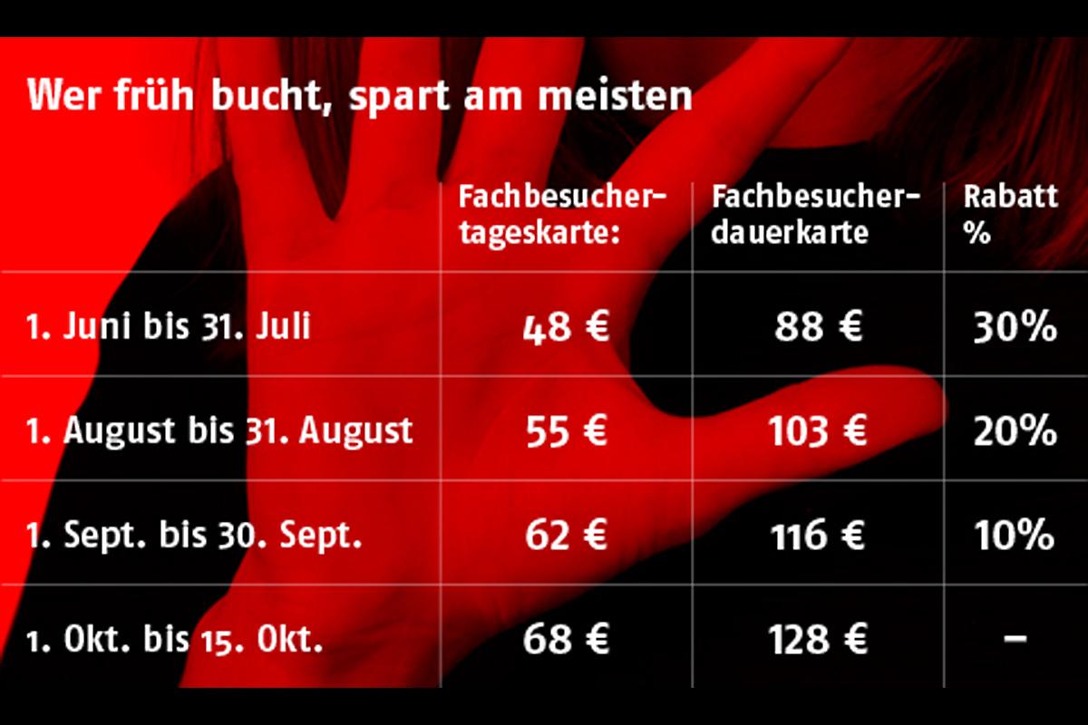 Rabatt bei Eintrittspreisen für Fachbesucher der Frankfurter Buchmesse 2017