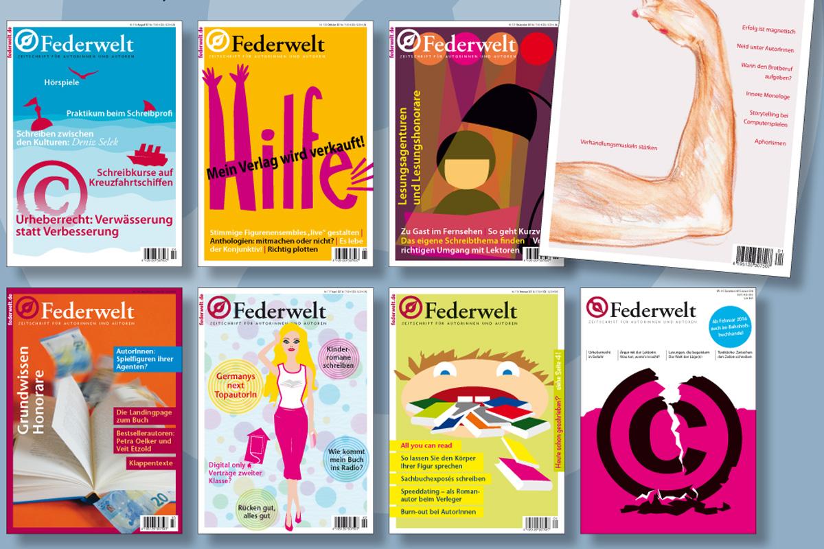 Viele Artikel aus der Federwelt gibt es jetzt auch online zu lesen