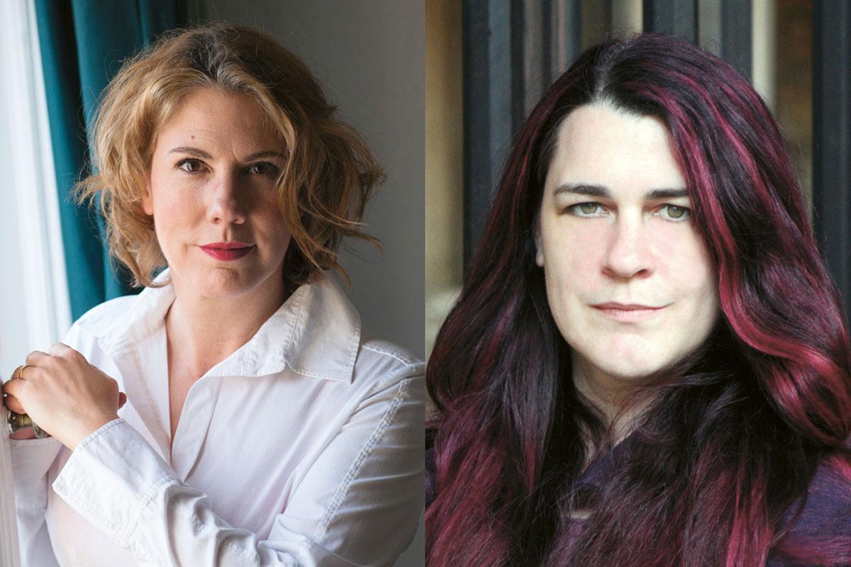 Nina George und Lena Falkenhagen