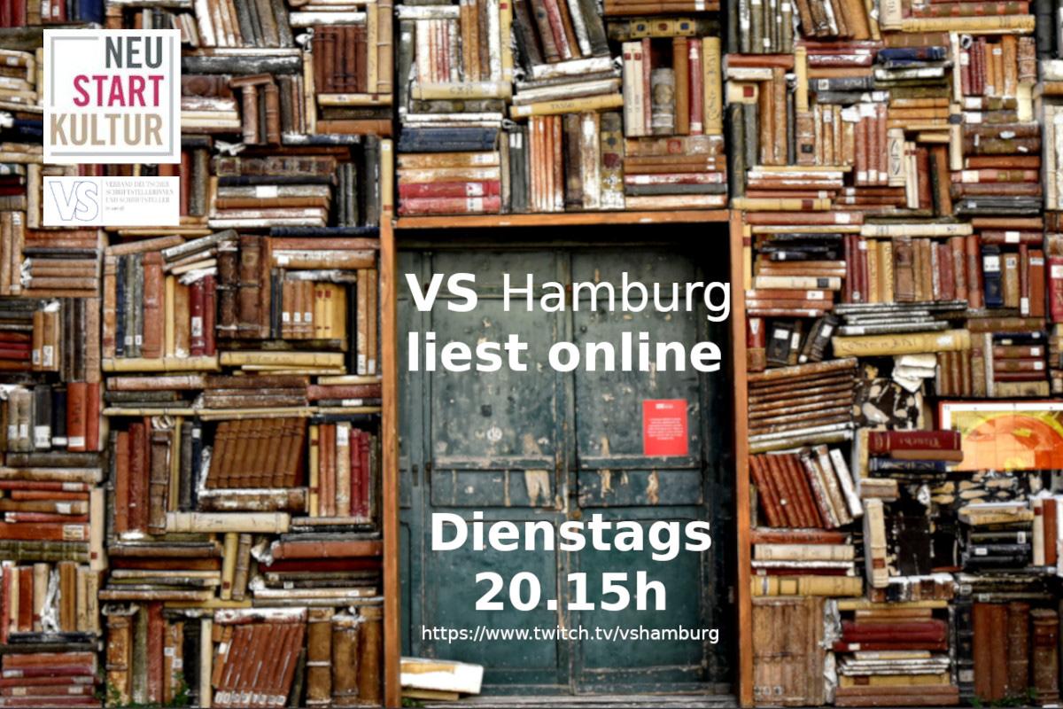 VS Hamburg startet Online-Lesereihe auf twitch