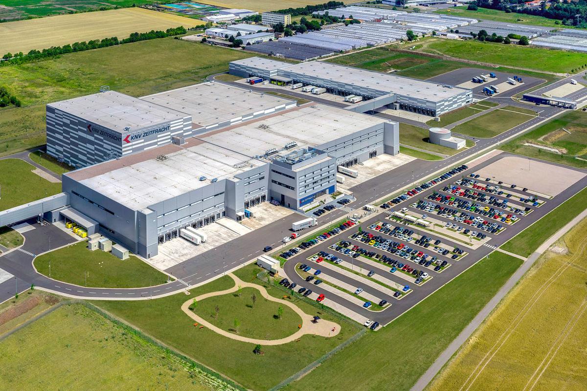 Logistikzentrum von Zeitfracht in Erfurt