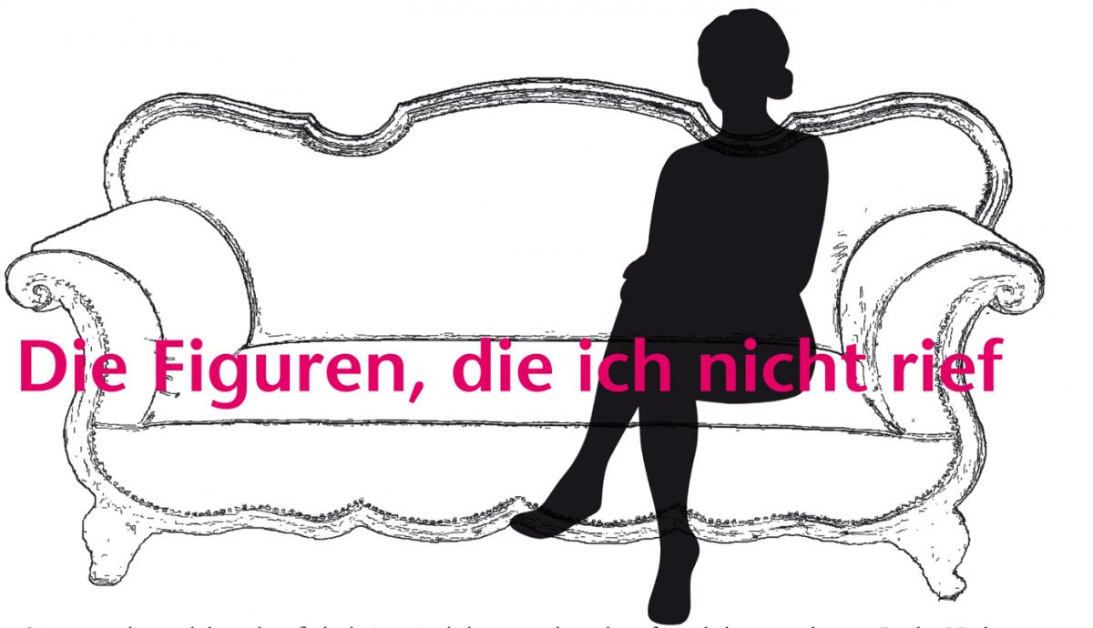 """Illustration zum Artikel """"Die Firguren die ich nicht rief von Britta Sabbag"""