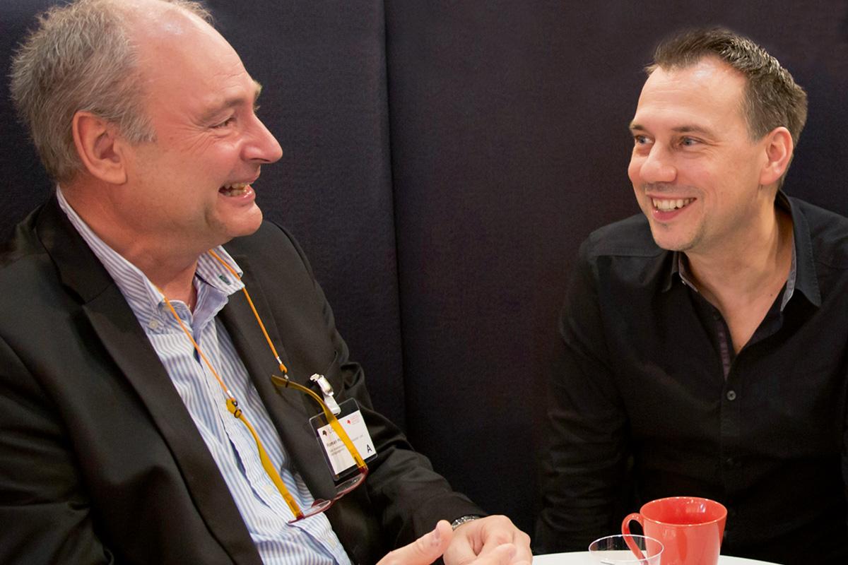 Sebastian Fitzek und Roman Hocke im Gespräch mit Oliver Wenzlaff