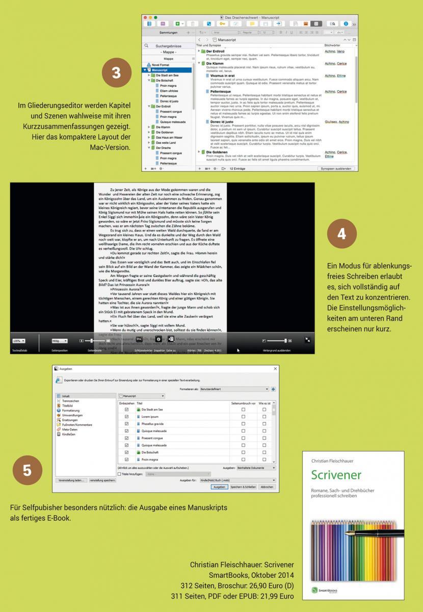 Schreibsoftware im Test: Scrivener | Autorenwelt