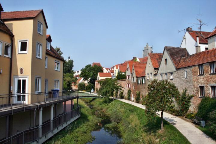 Bild von Donauwörth, wo die Autorenwelt am 11.10.2019 den Autorenclub Donau-Ries besucht