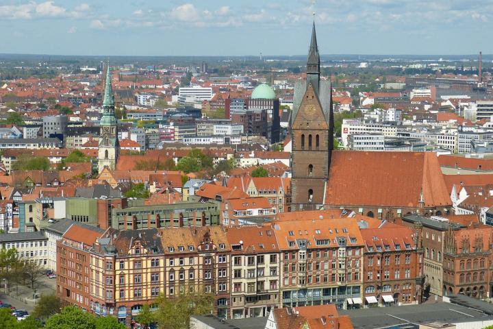 Bild von Hannover, weil dort die Autorenwelt zu Besuch ist