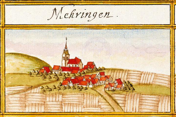 Mähringen - früher auch Mehringen geschrieben - liegt zwischen Tübingen und Reutlingen. Hier ist die Autorenwelt am 3. Juni 2019 zu Gast.
