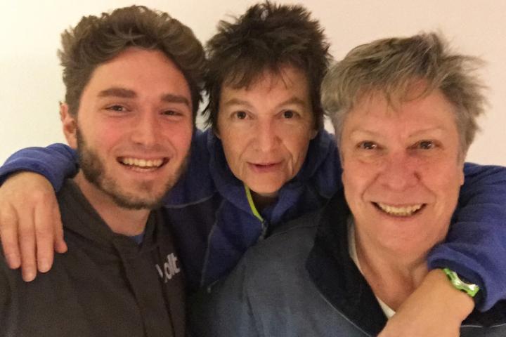 Wilhelm Uschtrin, Sandra Uschtrin und Angelika Fuchs von der Autorenwelt