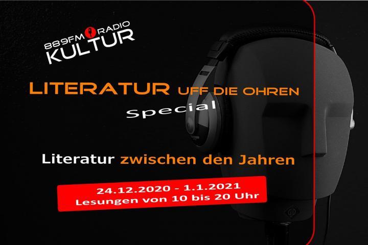 Radio 889FM Kultur bringt Literatur zwischen den Jahren
