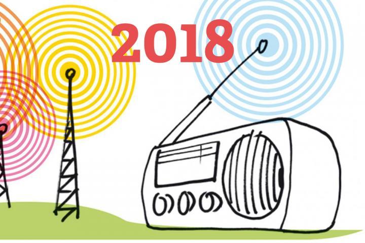 Jens Brehls Liste der Literatursendungen im Radio 2018