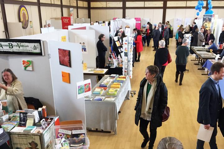 Kleine Buchmessen: Buchmesse im Ried 2019