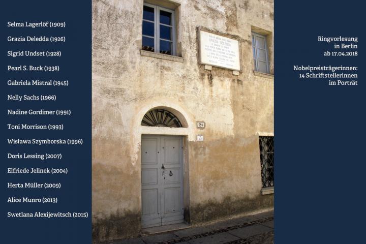 Geburtshaus von Grazia Deledda auf Sardinien