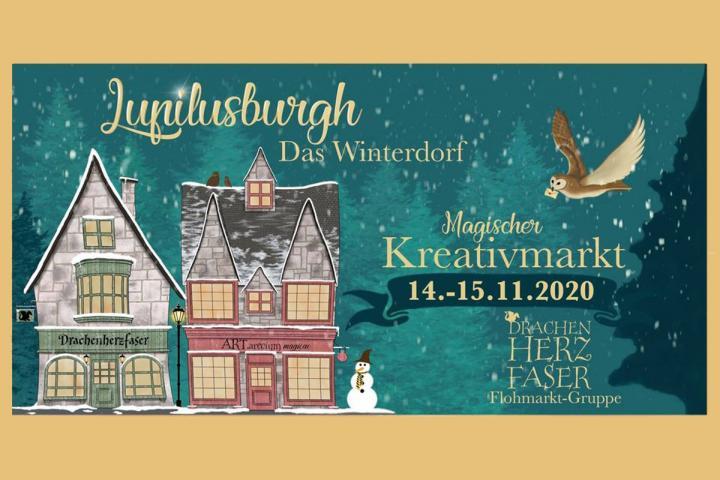 Lupilusburgh – digitaler Kreativmarkt für Fantasyfans