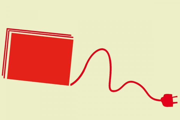 Stilisierung eines Bildes für ein E-Book