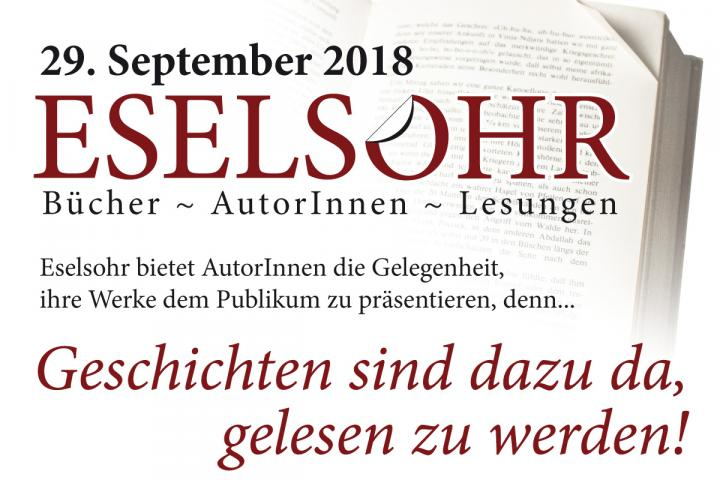 Eselsohr-Messeflyer