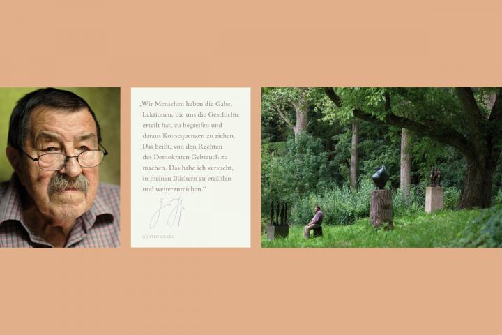 Triptychon von Bettina Flitner von Günter Grass
