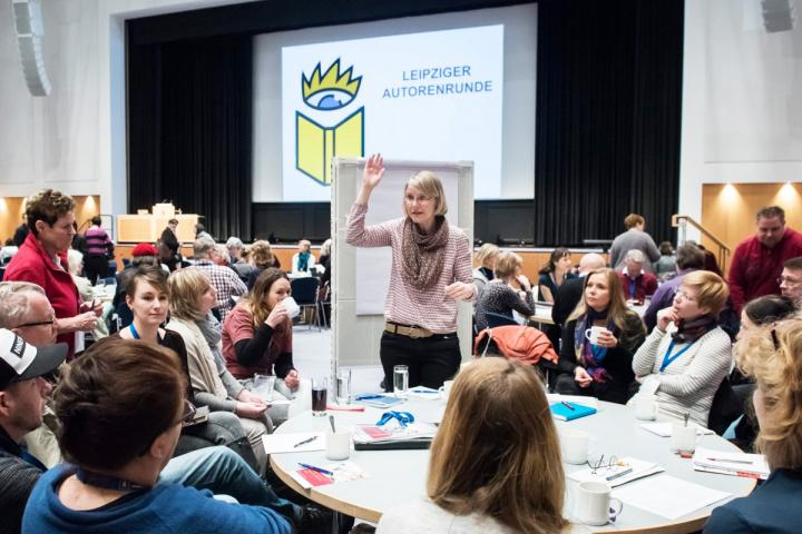 Leipziger Autorenrunde mit Anke Gasch