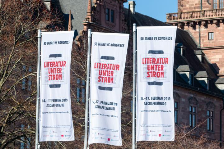 Appelle und Resolutionen auf dem VS-Jubiläumskongress 2019 in Aschaffenburg. Foto: Bert Bostelmann