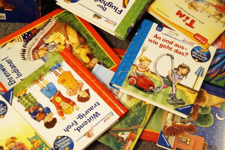 Bild zum Thema Die optimale Textlänge bei Kinderbüchern