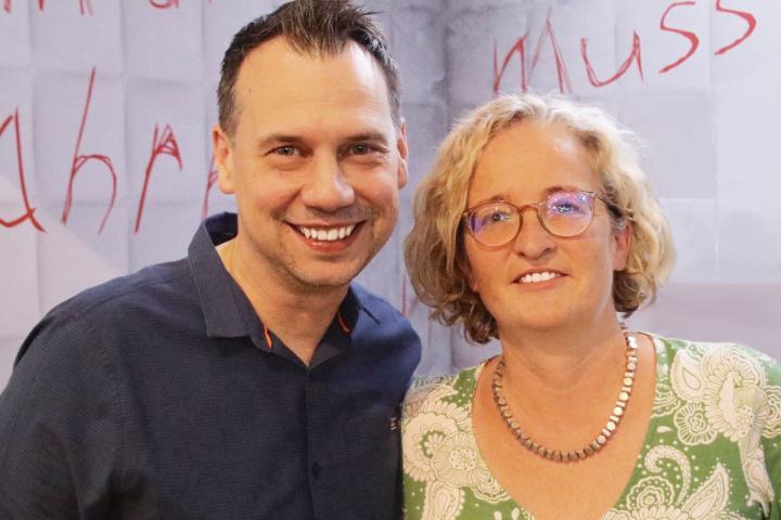 Sebastian Fitzek und seine Lektorin Regine Weisbrod