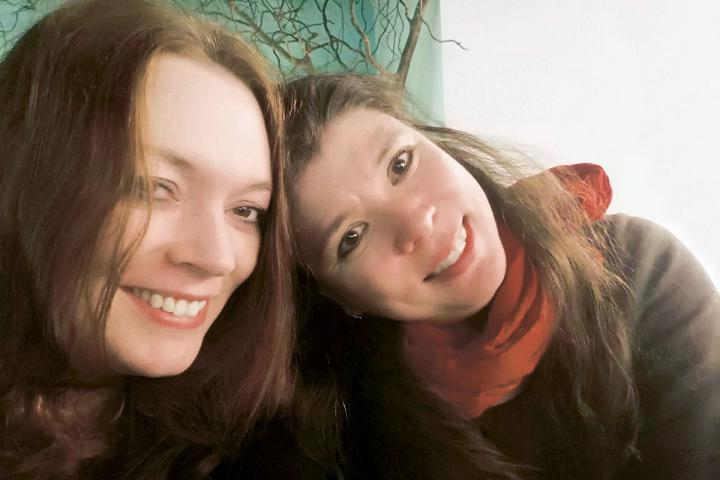 Zoë Beck und Catherine Beck