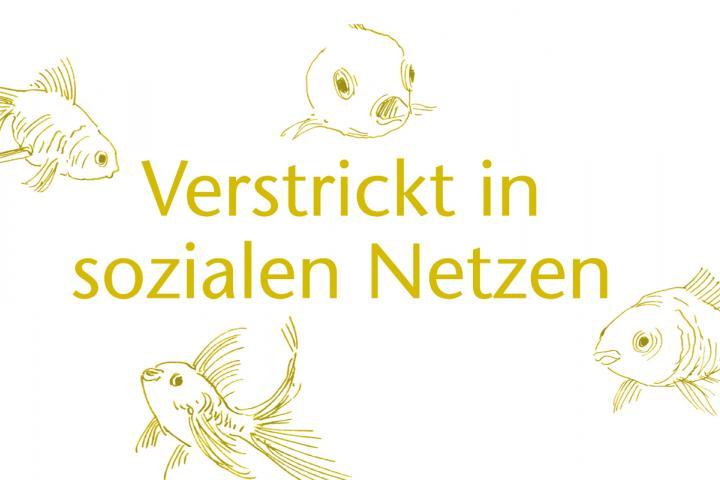 """Illustration zum Artikel """"Verstrickt in sozialen Netzen"""" von Stephan Waldscheidt"""
