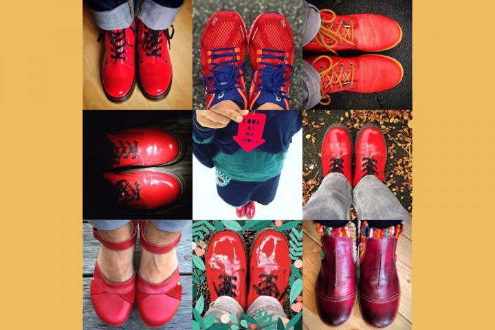 Diverse Paar Schuhe
