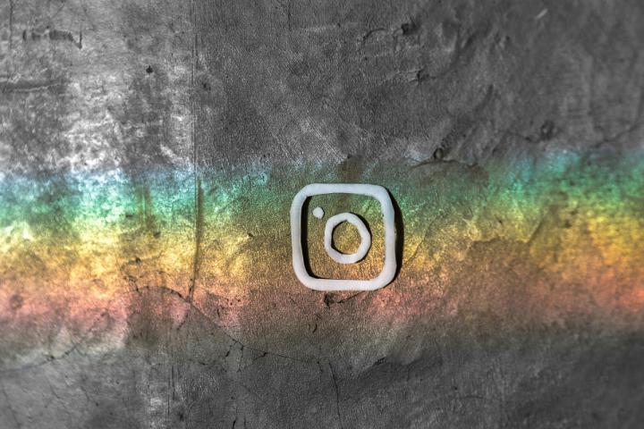 Stilisiertes Instagram Icon